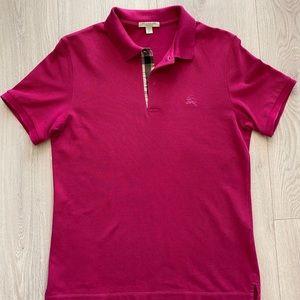 Men's Burberry Brit Polo Pink